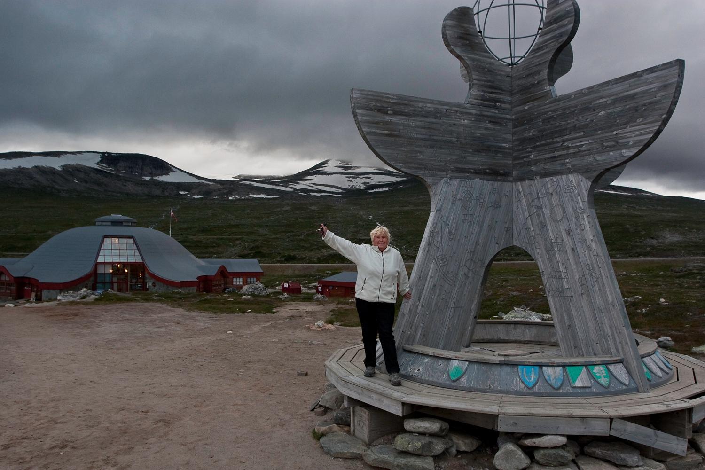 Over Saltfjellet - Polarsirkelen