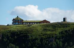 Turistua ligger flott over Hammerfest by