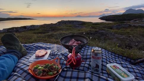 Middag på Nordøyvågen