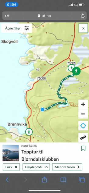 Topptur Bjorndalsklubben