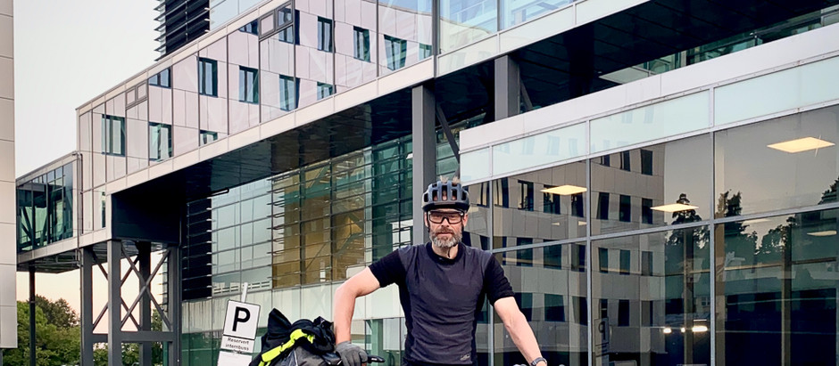 I mål etter Norge Rundt på 50 dager på sykkel