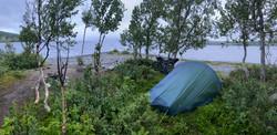 Telting ved Stuggusjøen