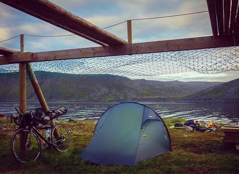 Camp ved fiskejell på Skårsvåg, Magerøya