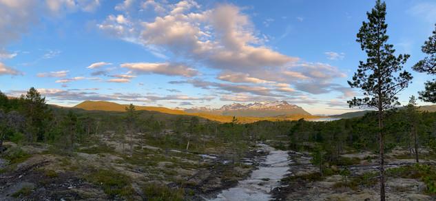 Flott fjelllandskap