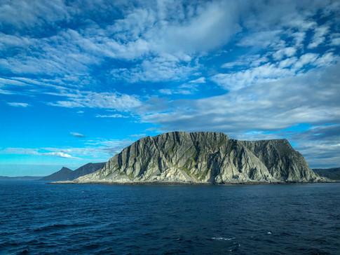 Varangerplatået sett fra Hurtigruten