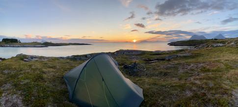 Nordøyvågen camp