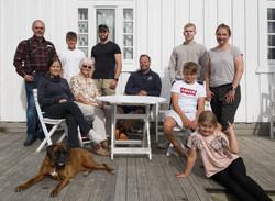 Hjemme hos familien Christiansen