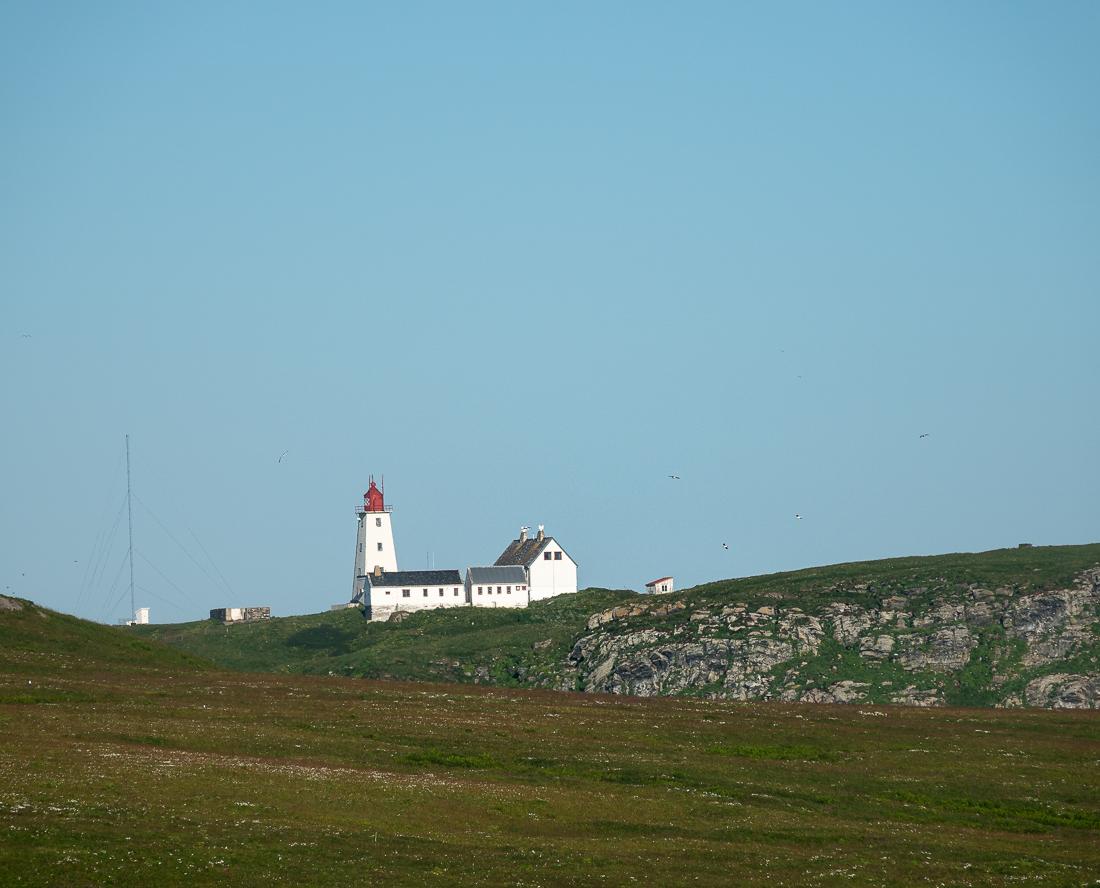 Vardø fyr, på Hornøya