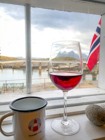 Rødvin til tørrfesken