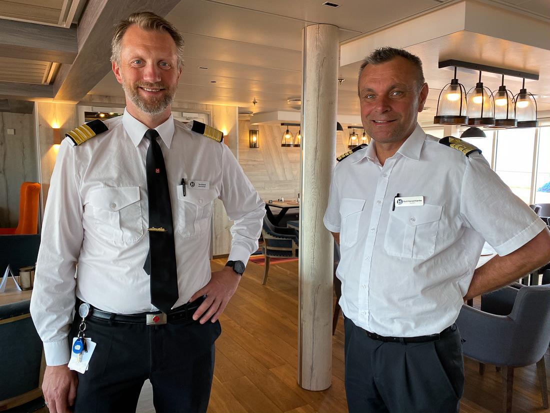 Hotellsjefen og kapteinen på Finnmarken