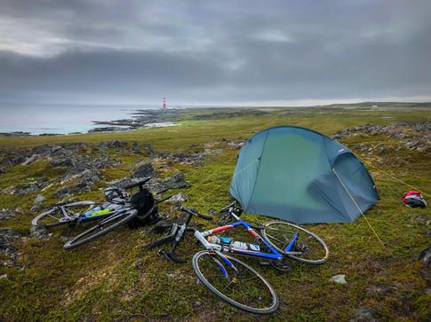 Bikepacking på Slettnes