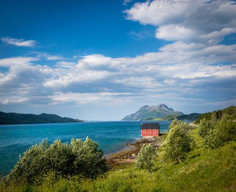 Naust før Tromsø