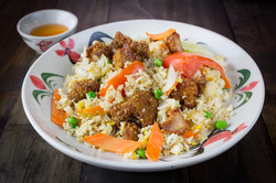 Crispy Chicken Fried Rice