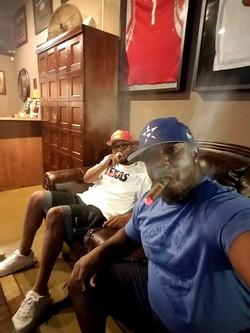 Enjoying a good smoke