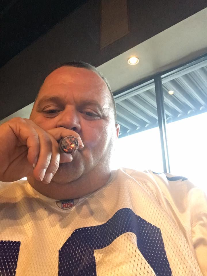 Enjoying a Smoke at Top 10