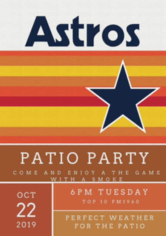 Astros Watch Party