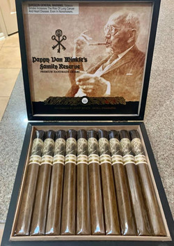 Smoking with Pappy...