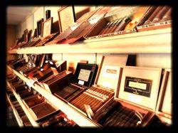 Top 10 Cigars Display