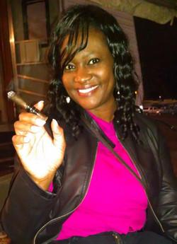 Enjoying a Top 10 Cigar