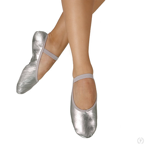 Silver Ballet Shoes