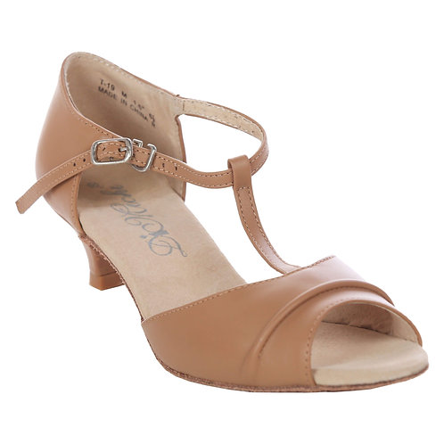 "Ballroom Shoes Size 9.5, 1.5"" Heel, Tan"