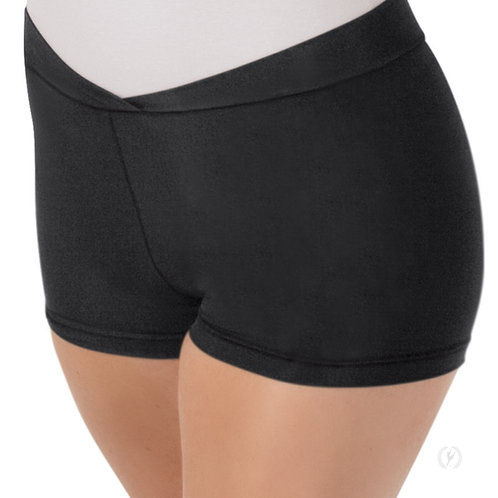 Womens V Front Booty Shorts