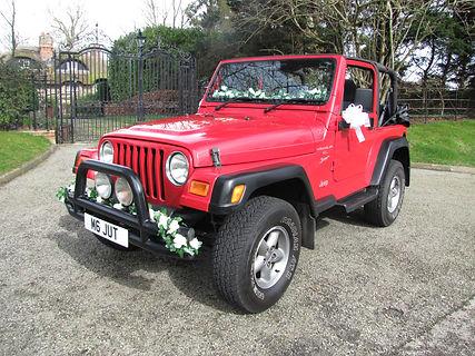 Wedding Car Hire Sussex Vintage Jeep image Angmering