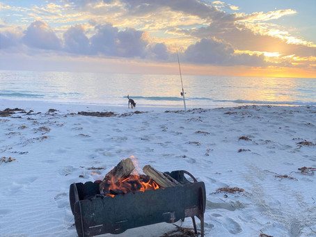 Our Best BBQ Camping Fire Pit ever!