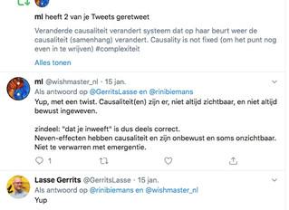 Twitter dialogen