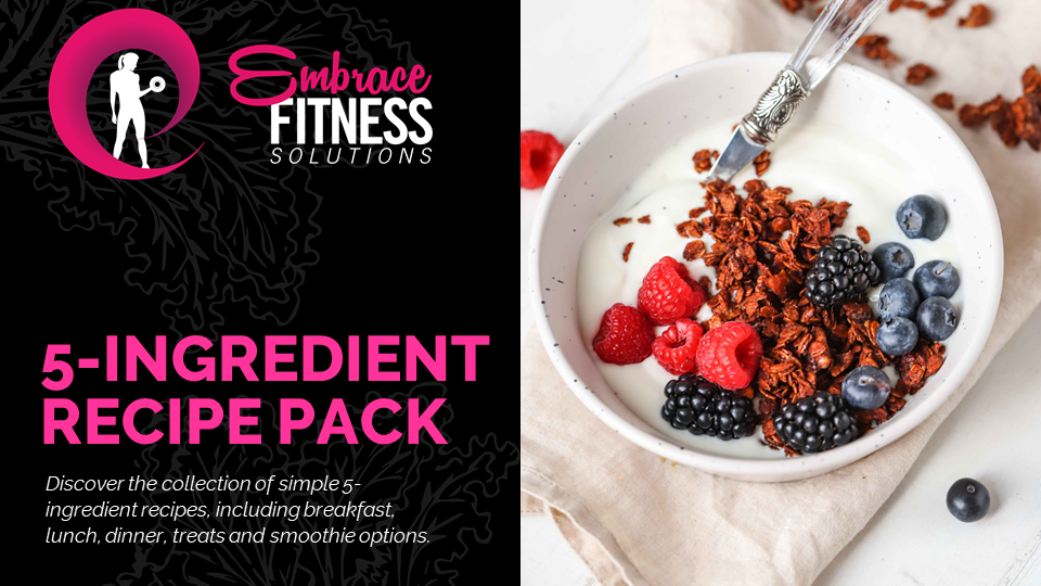 Embrace - 5 Ingredient Recipe Pack