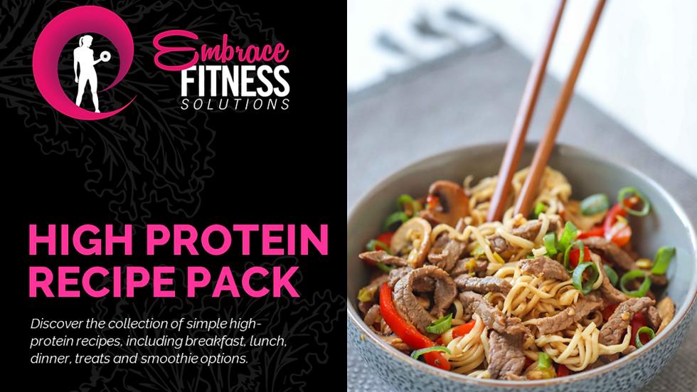 Embrace - High Protein Recipe Pack