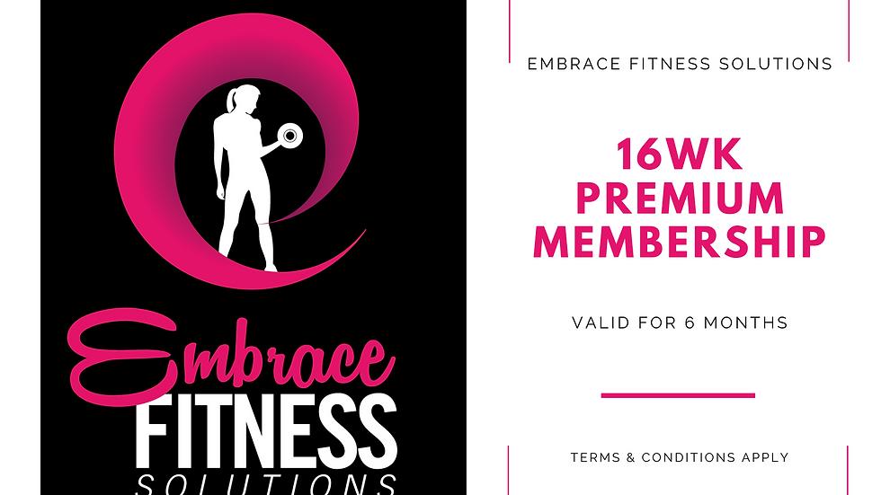 Embrace - Gift Certificate - 16wk Premium Membership