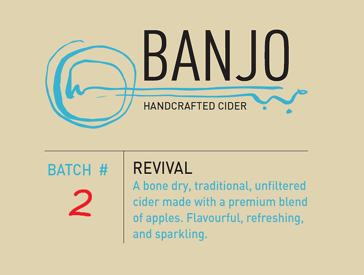 #2 - Revival: Our Driest Cider (750 mL)