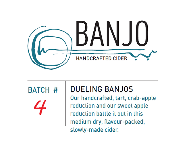 #4 - Dueling Banjos: Crabapple and Apple      (750 mL)