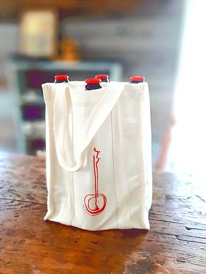4-Bottle Cider Bag