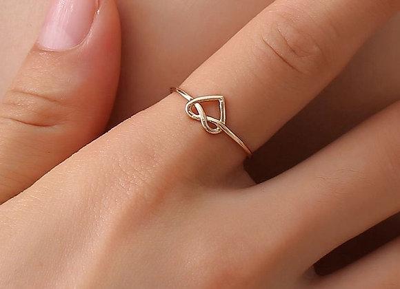 Heart Rose Ring
