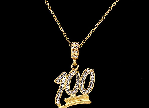100 Singapore Link Chain & Pendent