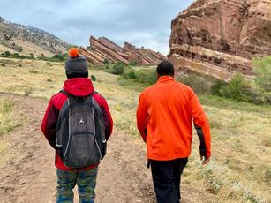 Hiking at Red Rocks