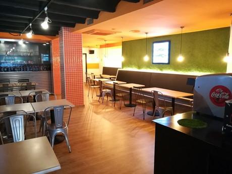 Construcción nuevo Burger Shack en Barcelona