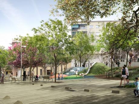 Nueva plaza pública en les Franqueses del Vallés