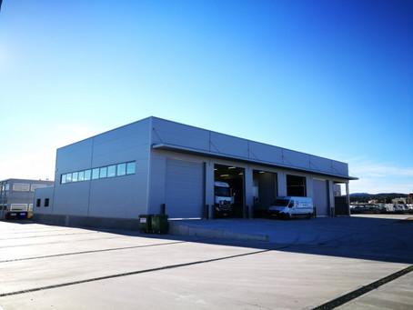 ABL Industria construye a Tip Trailers Spain su nuevo Hangar