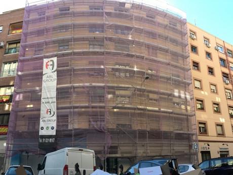 Rehabilitación de un edificio en Madrid