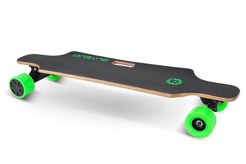 Huracane Electric Longboard - Green