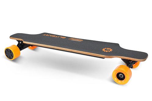 Huracane Electric Longboard - Orange
