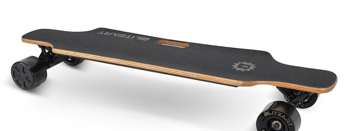 Huracane Electric Longboard - Black