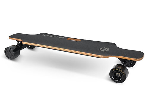 Huracane Electric Longboard - Black
