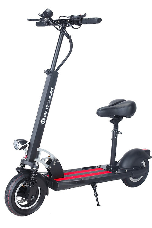 RAM Seated Electric Scooter - Black