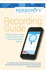 Personify Voice Recording System Guide
