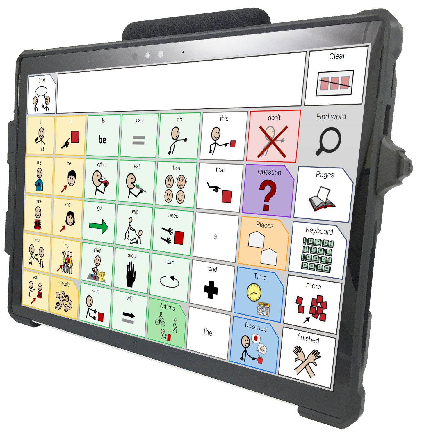 WinSlate 12D™ with CoreWord 40