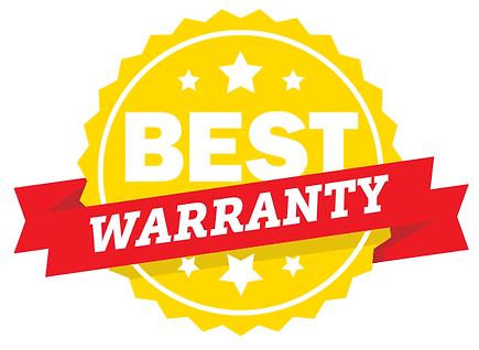 Five year warranty graphic